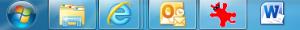Word on the Windows 7 Taskbar