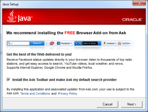 Windows IT Support - Java Update Prompt